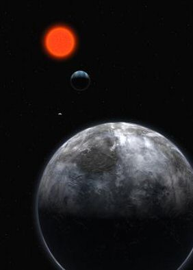 An Exoplanet With Liquid Water?