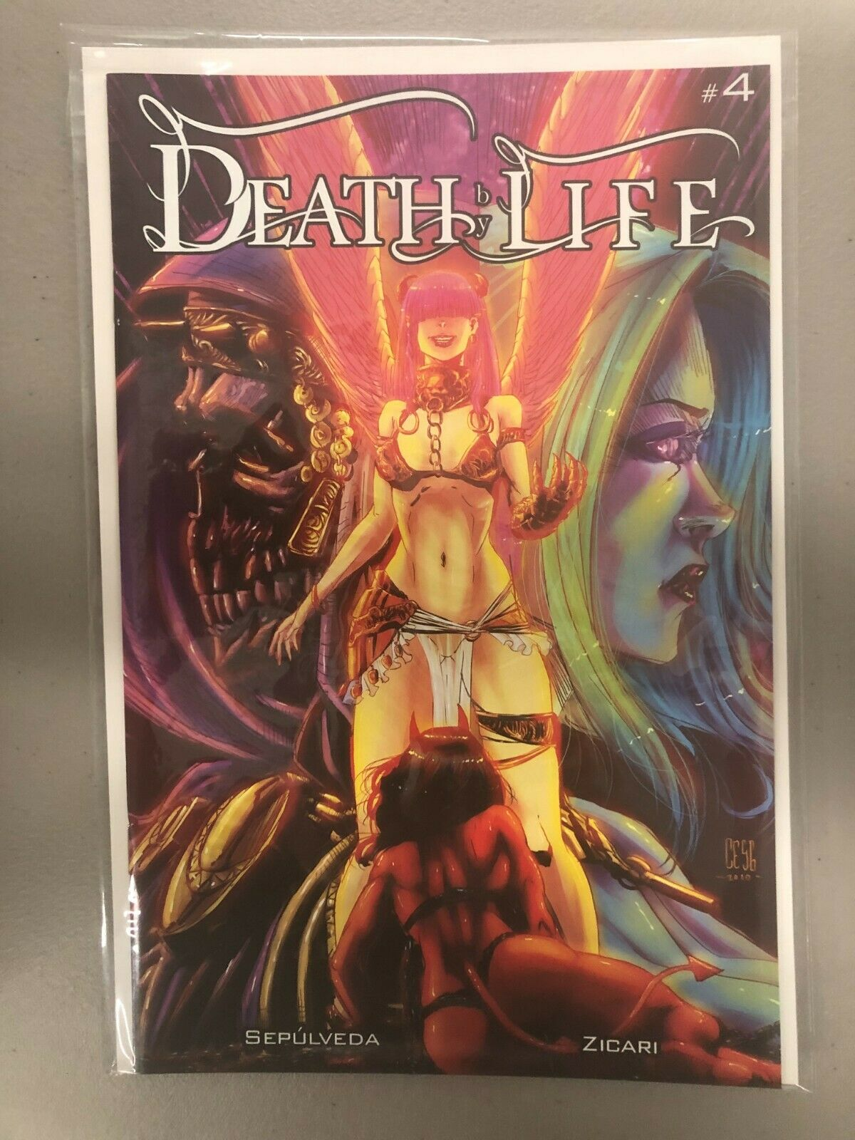 Death by Life 4 NM Antarctic Press 2021 brand new NM for ...